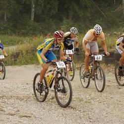 11. Elva rattamaraton - Aivar Ridamäe (42), Riivo Roose (59), Marek Sander (67), Kristjan Laanemaa (77), Margo Tamm (90)