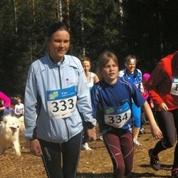 RMK Kõrvemaa Kevadjooks - Heli Kaljund (333), Ann-Mari Servet (334)