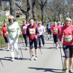 83. Suurjooks Ümber Viljandi Järve - Katrin Pärtelpoeg (4038), Vaike Tark (4079), Helen Kört (4156), Anneli Lastik (4381)