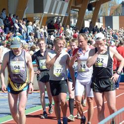 83. Suurjooks Ümber Viljandi Järve - Rait Pallo (74), Aimar Hussar (77), Janis Teteris (82), Artis Krievans (94)