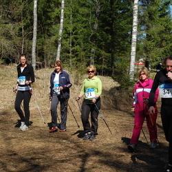 RMK Kõrvemaa Kevadjooks - Tiia Eeskivi (34), Evelyn Tohvri (71), Evelin Jürgenson (384), Berit Jürgenson (387)