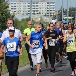 Tartu Suvejooks - Annette Talpsep (30), Annemari Rammo (257), Ott Hendrik Lemetti (264)