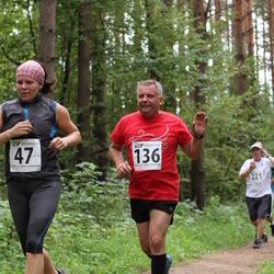 Tartu Suvejooks - Gerda Sillaste (47), Einar Viira (136)