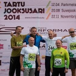 Tartu Suvejooks - Vidas Grunda (245), Arturas Voveris (246), Kestutis Gruodis (962), Nerijus Kackauskas (963), Mindaugas Kazlauskas (964)