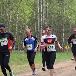 SEB 30. Tartu Jooksumaraton - Anneli Valge (691), Madis Loitmaa (823), Marko Perm (1013)