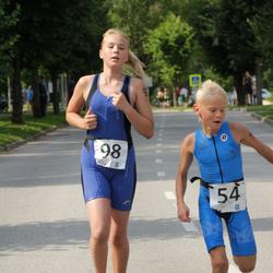 Elva Linnatriatlon lastedistants - Matiss Toms Jurgensons (54), Berit Liivamaa (98)