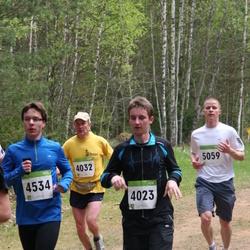 SEB 30. Tartu Jooksumaraton - Andre Tättar (4023), Sulev Puusaar (4032), Jakob Gill (4534), Urmas Kana (5059)