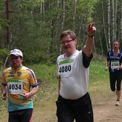SEB 30. Tartu Jooksumaraton - Aare Einsoo (4034), Meelis Vaagen (4084)