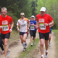 SEB 30. Tartu Jooksumaraton - Oliver Hannus (319), Aarne Tiit (439), Andres Vilper (466), Kersti Jääger (506)
