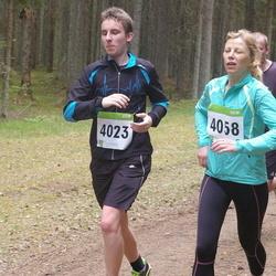 SEB 30. Tartu Jooksumaraton - Andre Tättar (4023), Irina Vilipson (4058)