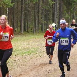 SEB 30. Tartu Jooksumaraton - Annika Altoja (4281), Rainer Rammul (5065)