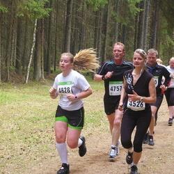 SEB 30. Tartu Jooksumaraton - Marit Kiljako (4526), Vello Voolaid (4757), Brita Liivamaa (4828)