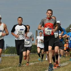 42. jooks ümber Ülemiste järve - Alar Savastver (27), Hanno Aaste (149), Urmas Kanep (288)