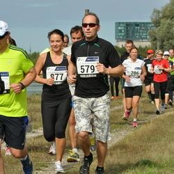 42. jooks ümber Ülemiste järve - Guido Paulus (579), Berit Vals (877)