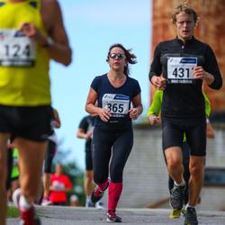 42. jooks ümber Ülemiste järve - Aet Kull (365), Martin Lessel (431)