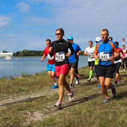 42. jooks ümber Ülemiste järve - Kristiina Kahur (268), Ago Võhmar (942)