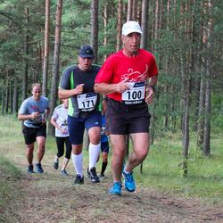 42. jooks ümber Ülemiste järve - Bruno Münter (100), Rain Arumäe (171)