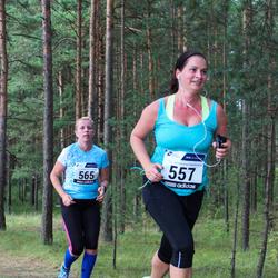 42. jooks ümber Ülemiste järve - Annika Ole (557), Gea Otsa (565)