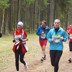 SEB 30. Tartu Jooksumaraton - Anni Salu (4299), Kairi Kangur (4493), Reile Juhanson (4575), Sergey Kochetkov (4922)