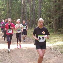 SEB 30. Tartu Jooksumaraton - Keiu Kruuse (4629), Saskia Vunk (4770), Martta Mölder (4771)