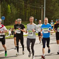 SEB 30. Tartu Jooksumaraton - Priit Tuisk (116), Erki Laimets (259), Villu Vakra (266), Eddi Joost (297), Alari Kannel (1828)