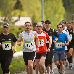 SEB 30. Tartu Jooksumaraton - Aarne Luud (69), Jaanus Tops (183), Ain Kaare (279)