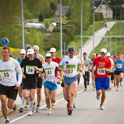 SEB 30. Tartu Jooksumaraton - Alar Savastver (26), Madis Osjamets (27), Tauno Hang (41)