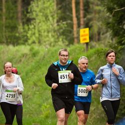 SEB 30. Tartu Jooksumaraton - Marten Sark (4519), Kerli Laanetu (4755), Aare Kaar (5005)