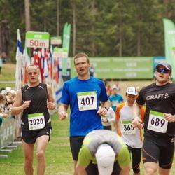 SEB 30. Tartu Jooksumaraton - Aare Viitkin (407), Ragnar Loova (689), Rait Mererand (2020)