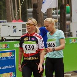SEB 30. Tartu Jooksumaraton - Maris Aagver (939), Jaana Rüütel (2083)