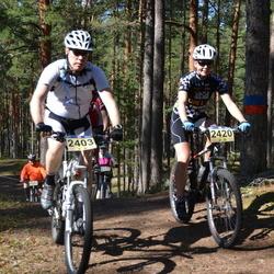 15. Jõulumäe Rattamaraton - Tapio Turunen (2403), Andra King (2420)