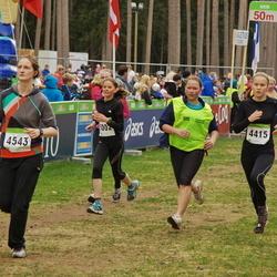 SEB 30. Tartu Jooksumaraton - Kaisa Sander (4415), Kätlin Põder (4543), Brita Sander (5002)