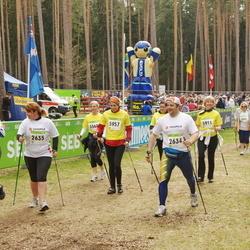 SEB 30. Tartu Jooksumaraton - Andre Pärna (2620), Kersti Pääsik (2622), Margus Ruusmaa (2634), Nele Ruusmaa (2635), Liisa Hummal (5568), Mariann Karja (5632), Liivi Raudsepp (5911), Maria Sikk (5957)