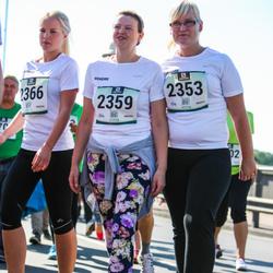Jüri Jaansoni Kahe Silla jooks - Kadri Päästel (2353), Anita Väinola (2359), Maarja Holzberg (2366)