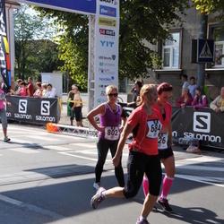 Jüri Jaansoni Kahe Silla jooks - Ingrid Jaeger-Kalpus (684), Anni Silm (802)