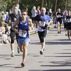 Jüri Jaansoni Kahe Silla jooks - Maido Kaljur (83), Andre Abner (129)