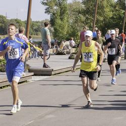 Jüri Jaansoni Kahe Silla jooks - Brandon Loorits (203), Rain Hallimäe (204)