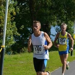 Jüri Jaansoni Kahe Silla jooks - Marek Mustonen (140), Arnold Schmidt (264)