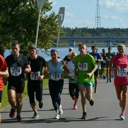 Jüri Jaansoni Kahe Silla jooks - Anu Taveter (188), Danek Tshushkin (298), Arno Sibul (374), Evert Saarnak (443)