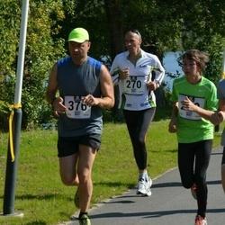 Jüri Jaansoni Kahe Silla jooks - Üllar Vill (270), Marko Kaska (376)
