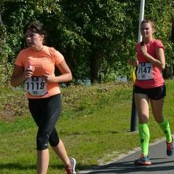 Jüri Jaansoni Kahe Silla jooks - Minni Pajo (1118), Birgit Rohtjärv (1147)