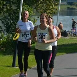 Jüri Jaansoni Kahe Silla jooks - Karin Lehtmäe (803), Birjo Vilgats (1092)