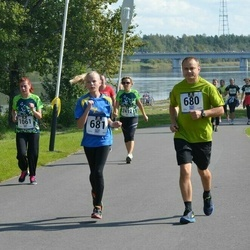 Jüri Jaansoni Kahe Silla jooks - Jaak Hansen (680), Kaili Hansen (681), Annika Seits (1061)