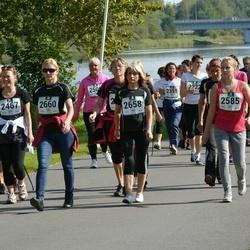 Jüri Jaansoni Kahe Silla jooks - Egle Eek (2467), Ade Mitt (2585), Külli Sõmera (2658), Maarja Kütt (2659), Aili Leppik (2660)