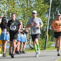 Jüri Jaansoni Kahe Silla jooks - Arno Sibul (374), Kaido Aaslaid (762)