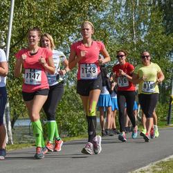 Jüri Jaansoni Kahe Silla jooks - Siiri Vene (1145), Birgit Rohtjärv (1147), Berit Rohtjärv (1148)