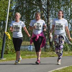 Jüri Jaansoni Kahe Silla jooks - Kadri Kõks (2354), Anita Väinola (2359), Maarja Holzberg (2366)