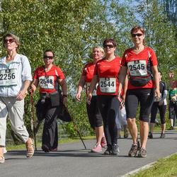 Jüri Jaansoni Kahe Silla jooks - Tiiu Vodja (2256), Kairi Õismets (2544), Leili Murumäe (2545), Annika Hiiemäe (2548)