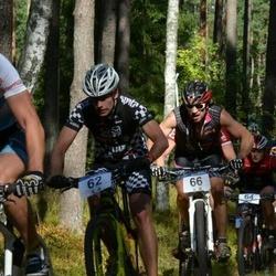 15. Jõulumäe Rattamaraton - Madis Kollo (62), Andre Kull (66)