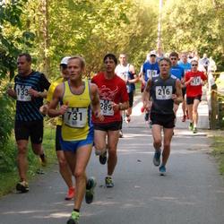 Jüri Jaansoni Kahe Silla jooks - Gert Saamann (216), Arnold Laasu (731)